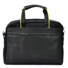 "Fashion One-Shoulder Protective Bag with Strap for 14.1"" Laptop Notebook - Black"