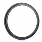 UV Camera Lens Filter - Black (55mm)