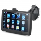 "5"" Touch WinCE 6.0 GPS Navigator Car DVR with built-in Brazil Map"