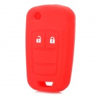 Replacement 2-Button Remote Key Shell Case - Red