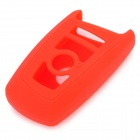 Silicon Smart Key Cover for BMW Car - Red