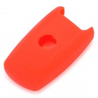 Silicon Key Cover for BMW Car - Red