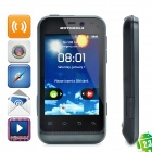 "Motorola XT320 Android 2.3 WCDMA Cellphone w/ 3.2"" Capacitive, GPS, Wi-Fi and FM - Black"