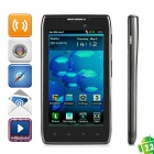 "Motorola XT910 Maxx Android 2.3 WCDMA Bar Phone w/4.3"" Capacitive Screen, Wi-Fi and GPS - Black"