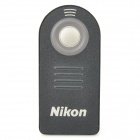 Nikon ML-L3 Wireless IR Remote Control for D7000 / D90 / D80 + More - Black (1 x CR2025)