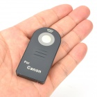 Wireless IR Remote Control for Canon 7D / 600D / 5D II + More - Black (1 x CR2025)