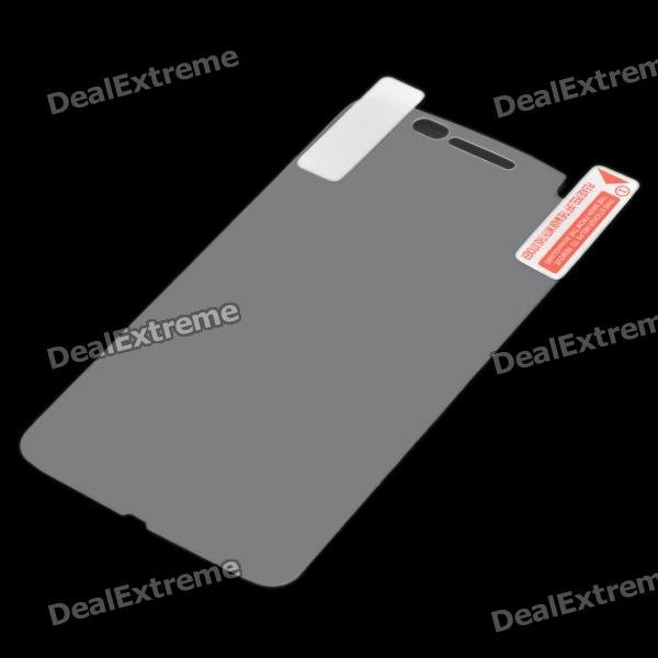 Protective Mobile Phone Back Film Sticker for MOTO MB860 - Transparent