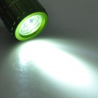 Mini Car Charger Powered Rechargeable 1W 7000K 45-Lumen 1-LED Flashlight - Green (DC 12V)