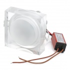 6W 620~630nm 260-Lumen 6-LED Red Light Ceiling Down Lamps (AC 100~240V)