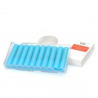 Electronic Cigarette Cartridge Refills - Blue (10-Piece Pack)