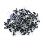 Aluminum Electrolytic Capacitor for DIY Project (120-Piece Pack)