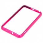 Protective Aluminum Alloy Bumper Frame for Samsung i9220 - Deep Pink
