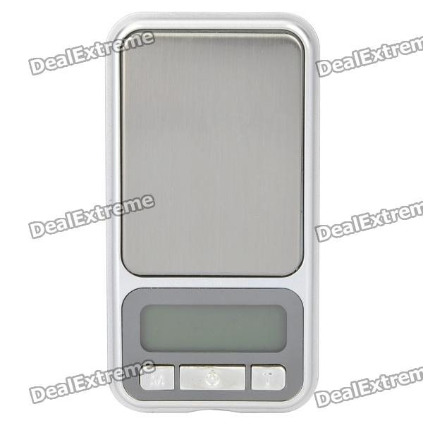 "Einzigartige iPhone Style 1,6 ""-LCD-Digital Pocket Scale (500g/0.1g)"