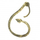 Stylish Left Ear Snake Style Decorative Earrings