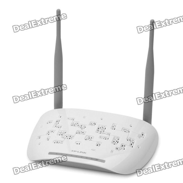 TP-Link TD-W89841N Enhanced 4-Port Wireless Router - White wi fi роутер tp link td w8961n