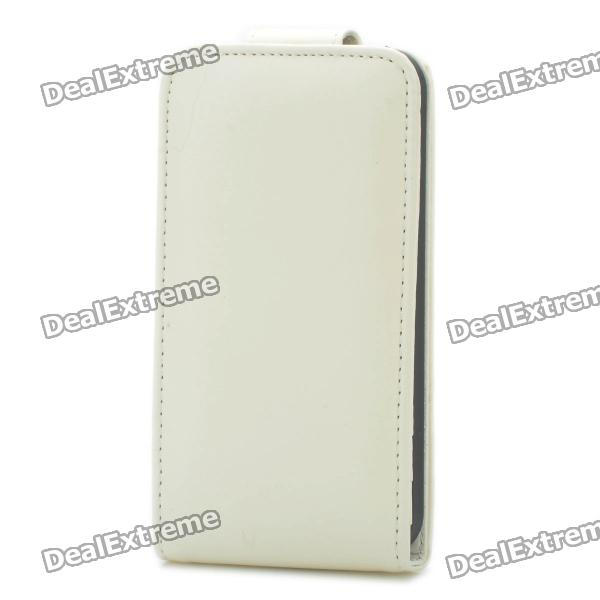 все цены на Protective Top Flip Open Case Cover for Iphone 4S - White