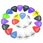 0.58/0.71/0.81mm Nylon Guitar Pick Set (24-Piece)