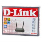 D-LINK DIR-616 300Mbps Wireless Router - Black