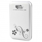 "2.5"" USB 3.0 Mobile External Hard Drive Storage Device - Silver (640GB)"