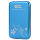 "2.5"" USB 3.0 Mobile External Hard Drive Storage Device - Blue (500GB)"