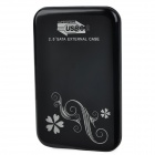 "2.5"" USB 3.0 Mobile External Hard Drive Storage Device - Black (640GB)"