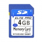 SD Memory Card - Blue (4GB)