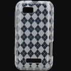 Protective PVC Cover Case for Motorola XT320 DEFY MINI - Transparent White