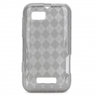 Protective PVC Cover Case for Motorola XT320 DEFY MINI - Grey