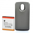 Replacement 3.7V 3800mAh Extended Battery w/ NFC Antenna / ABS Back Cover for Samsung i515 - Grey