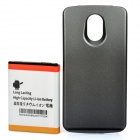 Replacement 3.7V 3600mAh Extended NFC Battery w/ ABS Back Cover for Samsung i9250 - Black