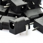 M0080 4.0 x 1.0mm 3-Pin DC Power Jack Connector - Black + Silver