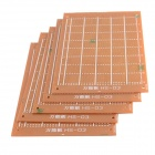 Prototype Universal Printed Circuit Board Breadboards (5-Pack)