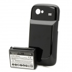 Replacement 3.7V 3800mAh Extended Battery Pack + Back Case for Samsung i9020 - Black