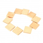 Heatsink Thermal Copper Plate Pad for HP DV2000 / HP DV3000 / HP DV9000 + More (10-Piece Pack)