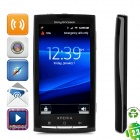 "Refurbished SE Xperia X10i Android 2.3 Smart Phone w/ 4.0"" Capacitive Screen, Wi-Fi and GPS - Black"