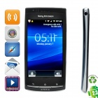 "Refurbished SE LT15i Android 2.3 WCDMA Smartphone w/4.2"" Capacitive, 720p, Wi-Fi and GPS - Blue"