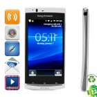 "Refurbished SE LT15i Android 2.3 WCDMA Smartphone w/4.2"" Capacitive, 720p, Wi-Fi and GPS - White"
