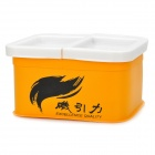Gronin Fishing Bait Box - Yellow + White
