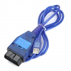 VAG KKL USB Ecu Car Scan Tool for Fiat - Blue