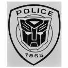 DIY Transformers Autobots Decent Car Body Sticker Decal Badge - Black