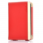 Soft Artificial Leather Magnetic Flip Case for   Ipod Classic 80 / 120GB - Red
