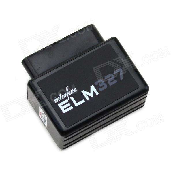 Mini ELM327 Bluetooth OBD2 V1.5 Car Diagnostic Interface Tool - Black car obd scan diagnostic interface scan tool blue