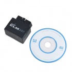 Mini ELM327 Bluetooth OBD2 V1.5 ferramenta de diagnóstico de diagnóstico do carro - preto