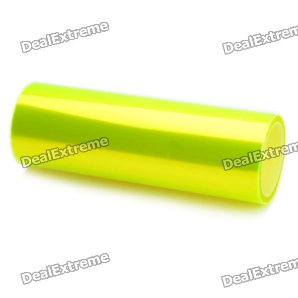 Fluorescence Yellow DIY Car headlamp Light Sticker (0.3x10m)