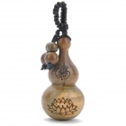 Sandal Wood Decoration Gourd - Brown