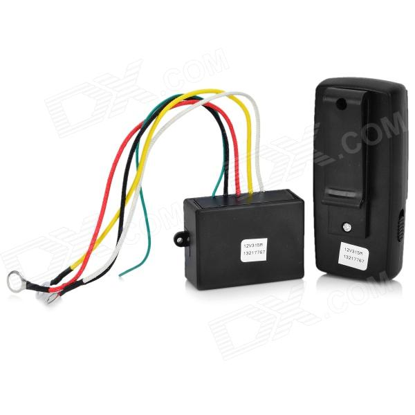 electric winch wireless remote control system black electric winch wireless remote control system black