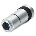 10x Zoom Telescope Lens W/ Back Holder Case for Ipad / Ipad 2 / the New Ipad - Silver