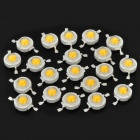 2W 160-180LM 2850~3050K Warm White LED Light Bulbs (20-Piece Pack)