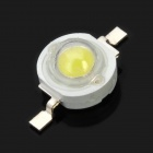 1W 90LM 6300 ~ 6700K luz fría blanco LED Bead lámpara (20 PCS)