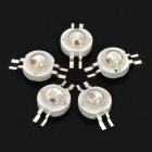 3W RGB multicolor grano de la lámpara de luz LED (5 PCS)